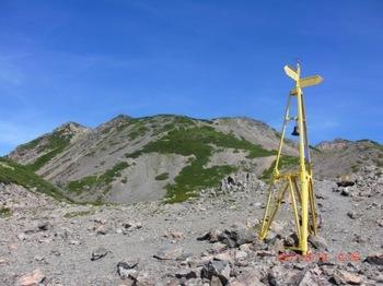 306下降点から農鳥岳方面.JPG